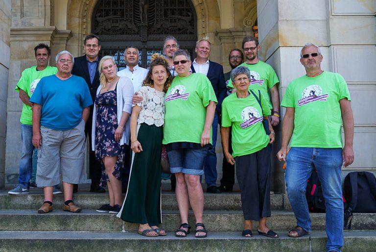Unterstützung des Aktionsbündnisses gegen die Umwandlung von Kleingarten-Parzellen