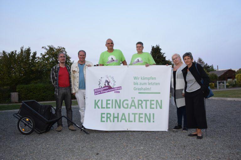Aktionsbündnis gegen Kleingartenzerstörung