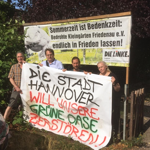 Aktionsbündnis gegen Kleingartenzerstörung Hannover