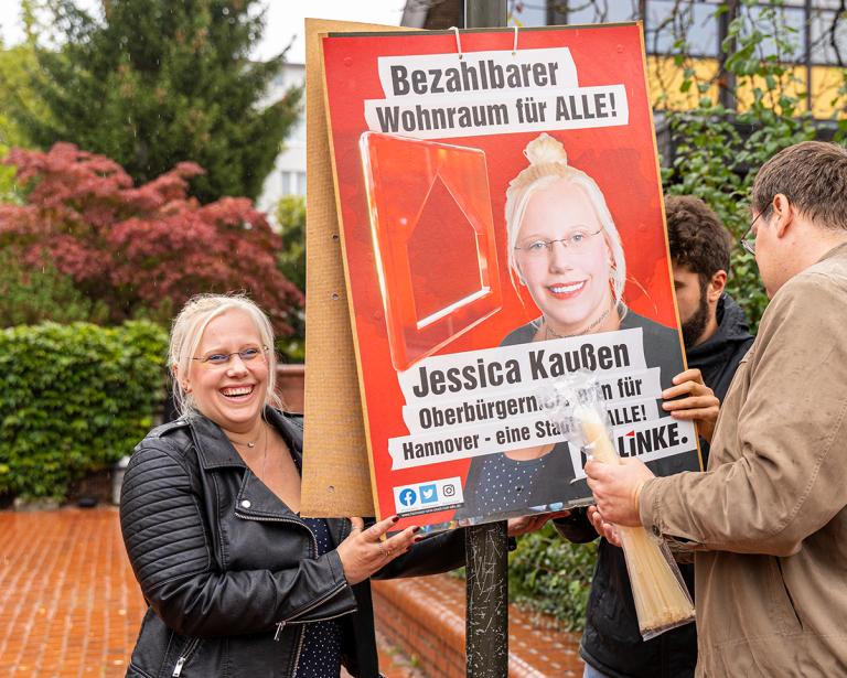 Mein Wahlkampfvideo zu meiner Kandidatur als Oberbürgermeisterin von Hannover ist Online